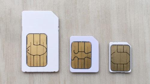 BIGLOBEモバイル格安SIMカードの画像